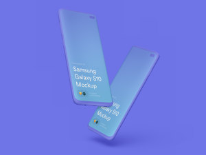 三星智能手机S10超级样机套装 Samsung Galaxy S10 Mockups插图27