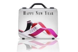 商务旅行手提箱/行李箱外观设计样机模板 Business suitcase Mockup插图4