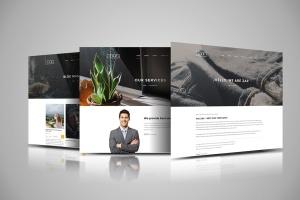 网站设计3D立体演示效果图样机模板 Web Themes Mock ups插图2