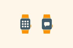 15枚智能手表APP应用主题矢量一流设计素材网精选图标 15 Smart Watch App Icons插图3