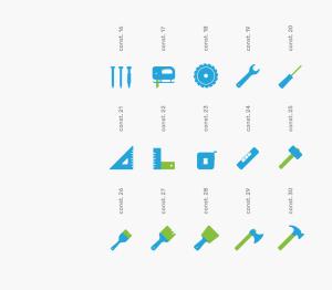 可自定义品牌颜色网页&图形设计彩色矢量一流设计素材网精选图标 Branded Color Icons插图(12)