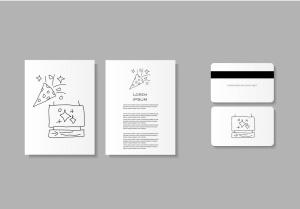 20枚跨年主题矢量轮廓一流设计素材网精选图标 End Time Outline Icons Set插图2