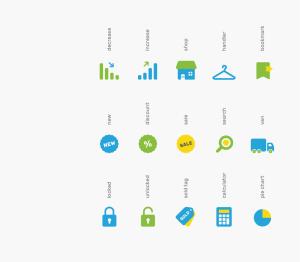 可自定义品牌颜色网页&图形设计彩色矢量一流设计素材网精选图标 Branded Color Icons插图(2)