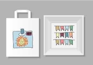 20枚活动派对主题手绘设计风格矢量一流设计素材网精选图标 Let's Party Icons Set插图2