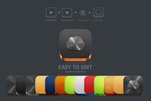 3D/2D&扁平设计风格APP一流设计素材网精选图标生成器v3 App Icons Generator vol. 3插图2