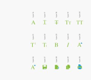 可自定义品牌颜色网页&图形设计彩色矢量一流设计素材网精选图标 Branded Color Icons插图(19)
