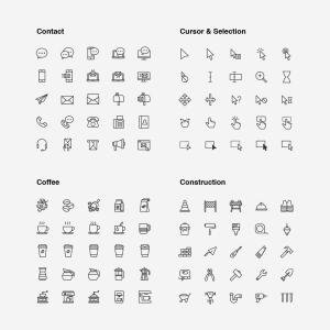 2120枚网站&APP设计师必备的矢量线性一流设计素材网精选图标集 Ultimate Icons Growing Pack插图20