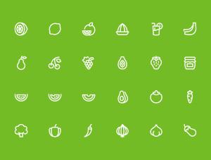一流设计素材网下午茶:2600枚线条&扁平化设计矢量一流设计素材网精选图标巨无霸合集插图1