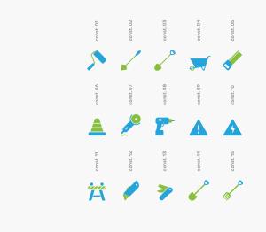 可自定义品牌颜色网页&图形设计彩色矢量一流设计素材网精选图标 Branded Color Icons插图(11)