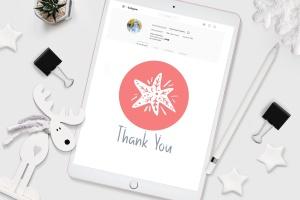 圣诞节主题矢量手绘一流设计素材网精选图标素材 Christmas Instagram highlight story icons插图5