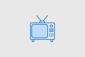 15枚TV&电视设备矢量线性一流设计素材网精选图标 15 TV & Television Icons插图3