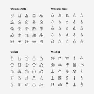2120枚网站&APP设计师必备的矢量线性一流设计素材网精选图标集 Ultimate Icons Growing Pack插图21