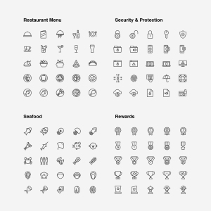 2120枚网站&APP设计师必备的矢量线性一流设计素材网精选图标集 Ultimate Icons Growing Pack插图10