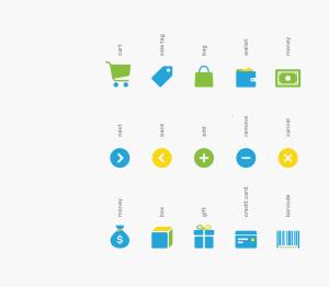 可自定义品牌颜色网页&图形设计彩色矢量一流设计素材网精选图标 Branded Color Icons插图(1)