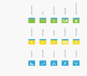 可自定义品牌颜色网页&图形设计彩色矢量一流设计素材网精选图标 Branded Color Icons插图(4)